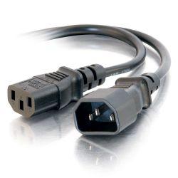 C2G 1,2 m 16AWG 250 Volt voeding-verlengkabel (IEC320 C13- IEC320 C14)