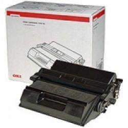 OKI Black drum/toner cartridge f B6100 15000sh 15000pagina's