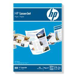 HP Laserjet paper 90g/m2 A4 laser 1 x 500 sheets in 1 doos.