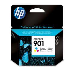 HP 901 originele drie-kleuren inktcartridge, Cyaan