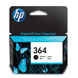 HP 364 Black Ink Cartridge Zwart inktcartridge