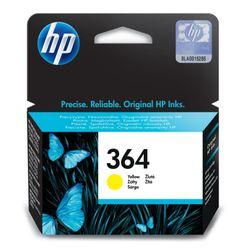HP 364 Yellow Ink Cartridge Geel inktcartridge