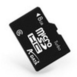 ADATA 8GB MicroSDHC Class 4 8GB MicroSDHC flashgeheugen