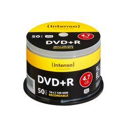 Intenso DVD+R 4.7GB, 16x 4.7GB DVD+R 50stuk(s)