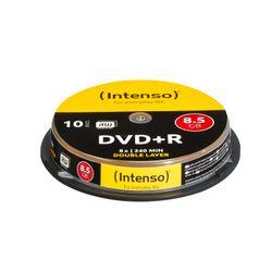 DVD+R 8.5GB, DL, 8x (10)