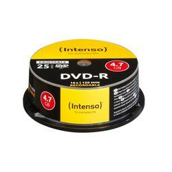 Intenso DVD-R 4.7GB, Printable, 16x 4,7 GB 25 stuk(s)