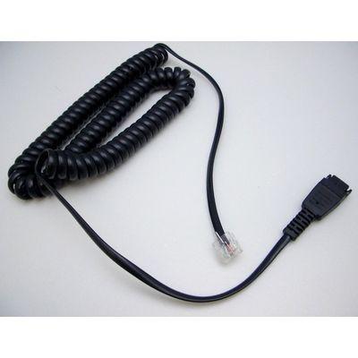 Jabra 8800-01-94 telefoonkabel 1,8 m Zwart