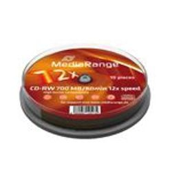 MediaRange MR235 CD-RW 700MB 10stuk(s) lege cd