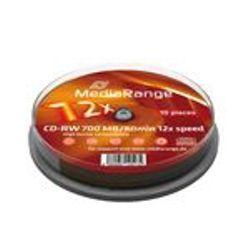 MediaRange MR235 CD-RW 700MB 10stuk(s) lege cd