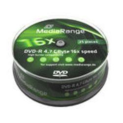 MediaRange MR403 4.7GB DVD-R 25stuk(s) lege dvd