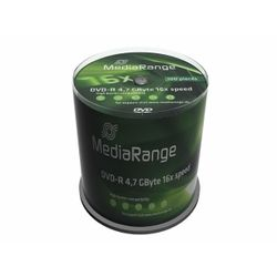MediaRange MR442 4.7GB DVD-R 100stuk(s) lege dvd