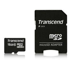 Transcend TS16GUSDHC10 flashgeheugen 16 GB MicroSDHC Klasse 10