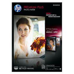 HP Premium Plus matglanzend fotopapier, 20 vel, A4/210 x 297 mm pak fotopapier