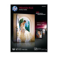 HP Premium Plus glanzend fotopapier, 20 vel, 13 x 18 cm pak fotopapier