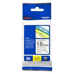 Brother TZe241 labelprinter-tape Zwart op wit TZe