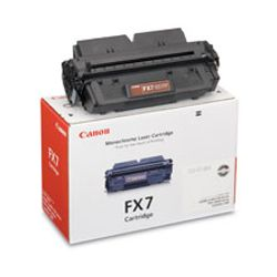 Canon FX-7 Black Toner Cartridge 4500pagina's Zwart