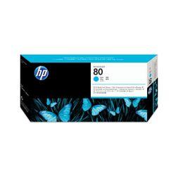 HP Printkop no. 80 cyan voor Designjet 1000-serie