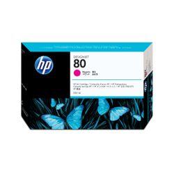 HP Inkt Cartridge no. 80 magenta 350ml voor Designjet 1000-serie