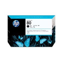 HP 80 zwarte DesignJet , 350 ml inktcartridge