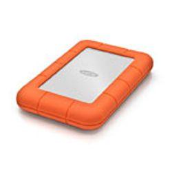 LaCie Rugged Mini 500GB, 3.0 (3.1 Gen 1), USB Type-A, Mac OS X 10.5 Leopard, Mac OS X 10.6 Snow Leopard, Oranje, Zilver, Stroom,