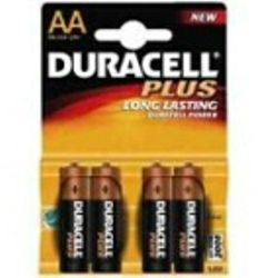 Duracell MN1500 Plus batteries AA Alkaline 1.5V