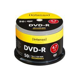 Intenso DVD-R 4.7GB, 16x 4.7GB DVD-R 50stuk(s)