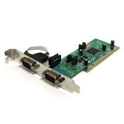 StarTech.com 2-poort PCI RS422/485 Seriële Adapter-kaart met 16550 UART