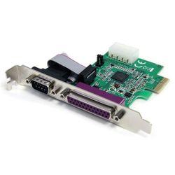 StarTech.com 1S1P Native PCI Express Parallelle Seriële Combokaart met 16950 UART interfacekaart/-adapter