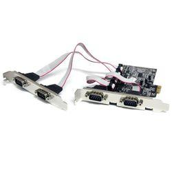 StarTech.com 4-poort Native PCI Express RS232 Seriële Kaart met 16550 UART interfacekaart/-adapter