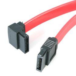 StarTech.com 30cm SATA naar Haakse SATA Kabel naar Links
