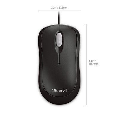 Microsoft 4YH-00007 muis USB Type-A Optisch 800 DPI Ambidextrous