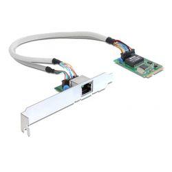 DeLOCK MiniPCIe I/O PCIe full size 1 x Gigabit Lan Intern