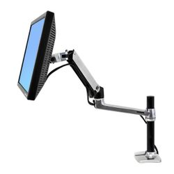 "Ergotron LX Series Desk Mount LCD Arm, Tall Pole 24"" Zwart"