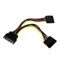 StarTech.com 15cm SATA Voedingskabel Y-adapter M/F