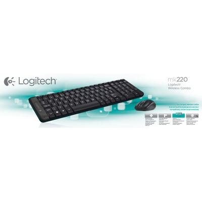 Logitech G MK220 toetsenbord RF Draadloos QWERTY US