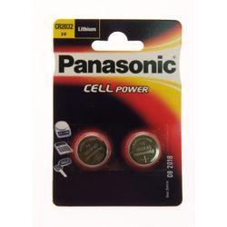 Panasonic CR2032 Lithium 3V niet-oplaadbare batterij