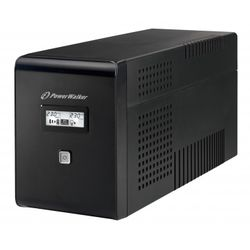 PowerWalker VI 2000 LCD 2000VA 2AC-uitgang(en) UPS
