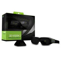 Nvidia GeForce 3D Vision 2 Zwart stereoscopische 3D-bril