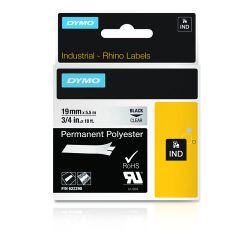 DYMO 622290 labelprinter-tape Zwart op zilver