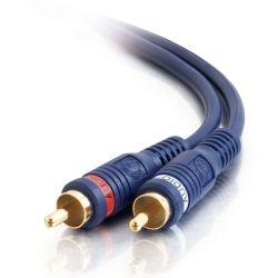 C2G 5m Velocity RCA Audio Cable 5m RCA RCA Zwart composiet