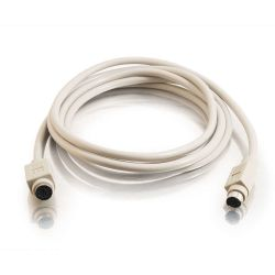C2G 2m PS/2 Cable 2m Grijs PS/2-kabel