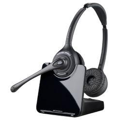 Plantronics CS520/A Stereofonisch Hoofdband Zwart hoofdtelefoon