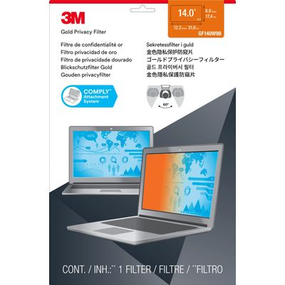 3M Gold Privacyfilter voor breedbeeldlaptop 14