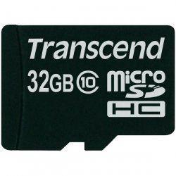 Transcend TS32GUSDC10 32GB MicroSDHC Klasse 10 flashgeheugen
