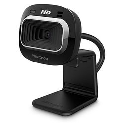 Microsoft LifeCam HD-3000 for Business webcam 1 MP 1280 x 720 Pixels USB 2.0 Zwart
