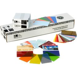 Zebra Premier PVC 10 mil (500) 500stuk(s) visitekaartje
