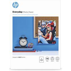 HP Everyday glanzend fotopapier, 100 vel, A4/210 x 297 mm