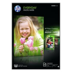 HP Everyday glanzend fotopapier, 100 vel, A4/210 x 297 mm pak fotopapier