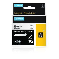 DYMO 1734523 labelprinter-tape Zwart op wit