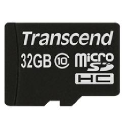Transcend MicroSDHC 32GB 32GB MicroSDHC Klasse 10
